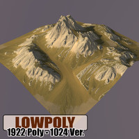 Lowpoly Mountain HL57