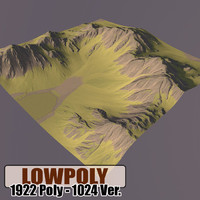 Lowpoly Mountain HL67