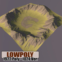 Lowpoly Mountain HL69