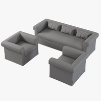 maya baker horizonte skirted sofa chair