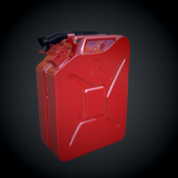 3d jerrycan fuel model