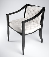 versace armchair chair 3d model