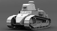 ma renault ft17 light tank