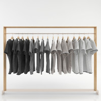 3d model clothes wardrobes