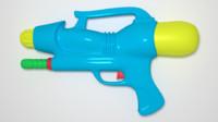 water gun 3d model