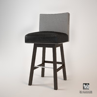 bar stool coppola 3d 3ds