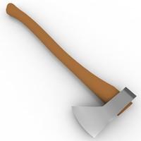 3d model hudson axe