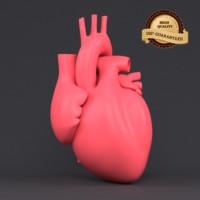 3d obj heart