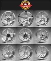 9 Alloy Wheel Pack