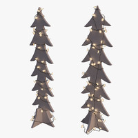 Wooden Christmas Tree STRALA