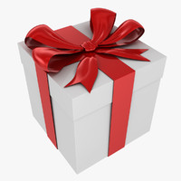 3d model giftbox gift box