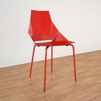 3d real good chair bludot