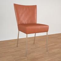 gabon label chair 3d max