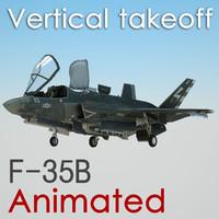 3d model f-35b jdam