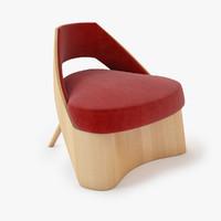oblik chair 3d model