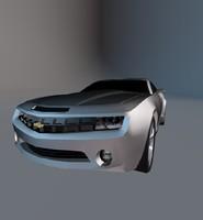 3d model chevrolet camaro