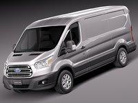Ford Transit Short Low Van 2014