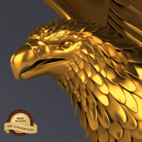 3ds max golden eagle