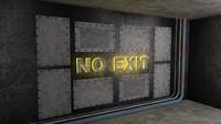 corridor 3d obj