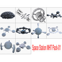 3dsmax space station mht pack-01