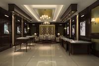 max interior jewelry store