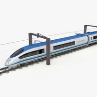 3ds speed train -