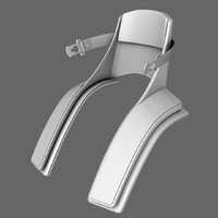 3d model f1 neck protection