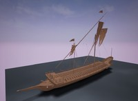 maya galley historical boats