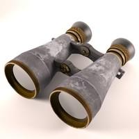 3d old binoculars