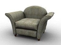 3d sofa furniture model