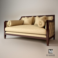 christopher guy sofa 60-0151 3d model