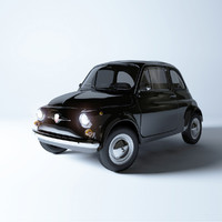 fiat 1963 3d model