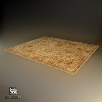 vintage classic carpet 3d model