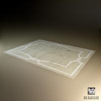 3d modern carpet liveroom