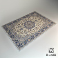 classic carpet 3d model