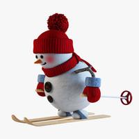 max snowman skier