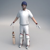 Cricket Player 01