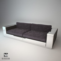 3d model daydream sofa visionnaire