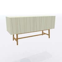 simple sideboard 3d obj