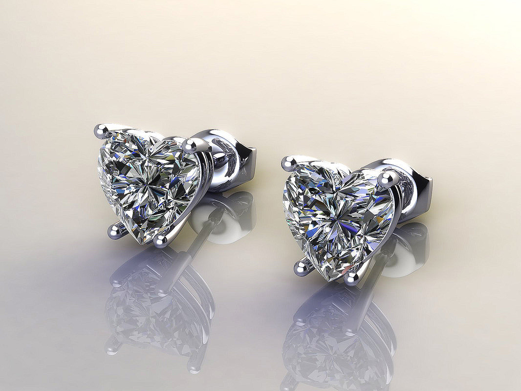 diamond earrings model - photo #33
