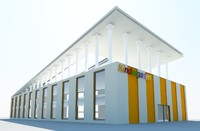 exterior kindergarten max free