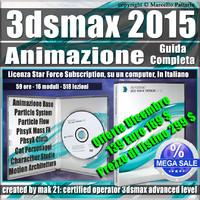 3ds max 2015 Animazione Guida Completa Subscription