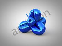 3d jeff flower