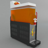 cold drink dispenser 3d max