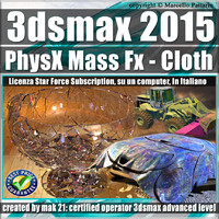 3ds max 2015 PhysX Mass Fx Cloth Subscription
