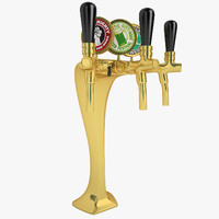 3d model beer tower kobra