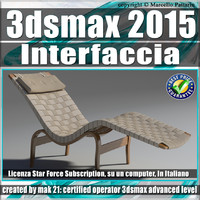 3ds max 2015 Interfaccia Vol. 43 Subscription
