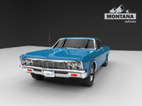 3ds max chevrolet impala ss 66