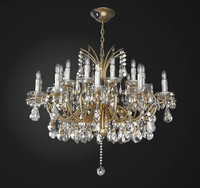 chandelier lamp light 3ds