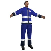 3d model human man male